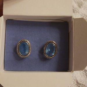 Avon Oval Earrings NIB